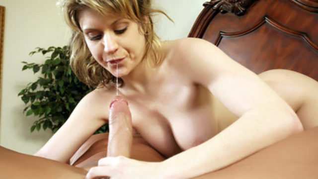 Busty Teen Provides A Blowjob