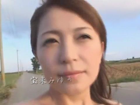 Marvelous Asian Bi-atch Miyuki Hourai, Amai Mitsu, Yuna Akimoto In Insane Pov, Out Of Doors Jav Vid