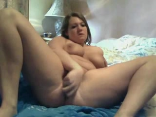 Naughty Humungous Plump Bbw Jacking Her Cootchie And Pumping Out