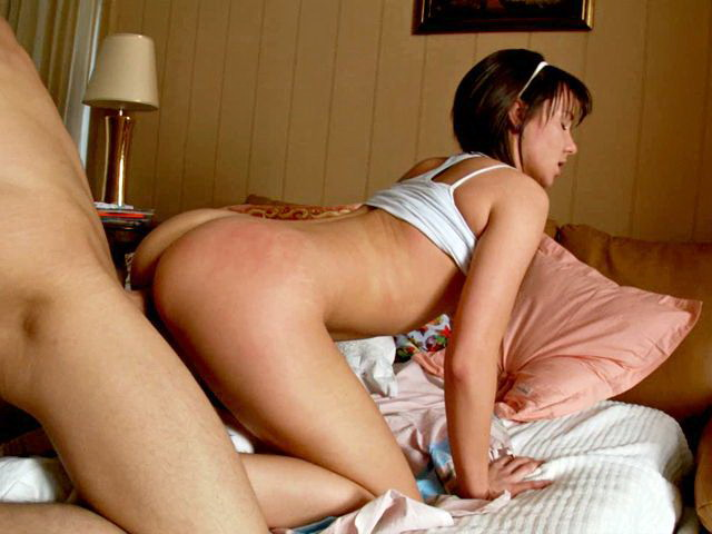 Black-haired Teenie Minx Malica Getting Delicious Puss Pummeled Rear End By Means Of A Lengthy Hard-on