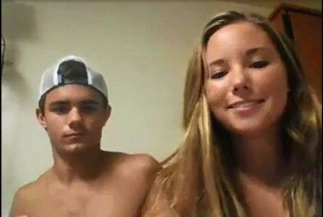 Steamy Duo On Web Cam