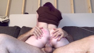 Bunny Rails My Schlong Sack Of Babymakers Deep And Earns A Pulsating Internal Cumshot In Her Coochie
