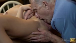Daddy4k. Dude Catches Gf Anna Rose And Daddy Having Fuckfest In Heart Of B