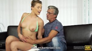 Daddy4k. Dude Is Astonished To Catch His Gf And Parent Having Muddy Fuck-a-thon