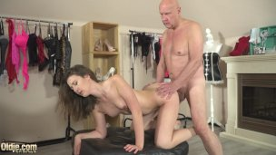 Elder And Youthful Fuck-a-thon Guiltless Nubile Porked Firm Via Step-dad