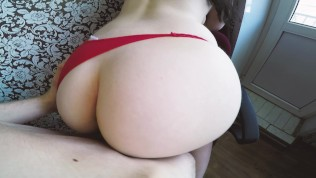 Pov – Youthful Massive Butt Teenage Humped In Magnificent Crimson G-strings